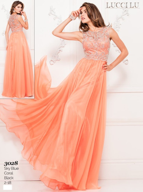 3028 Prom                                             dress by Lucci Lu