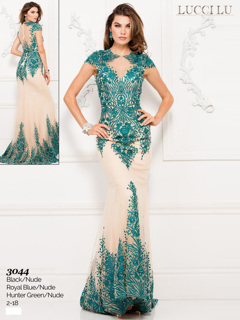 3044 Prom                                             dress by Lucci Lu