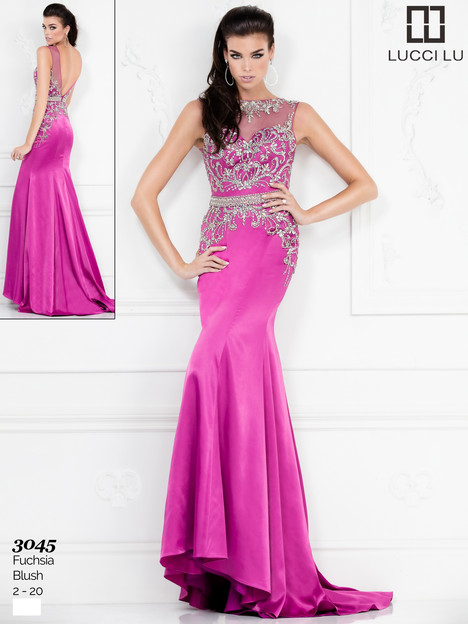 3045 Prom                                             dress by Lucci Lu