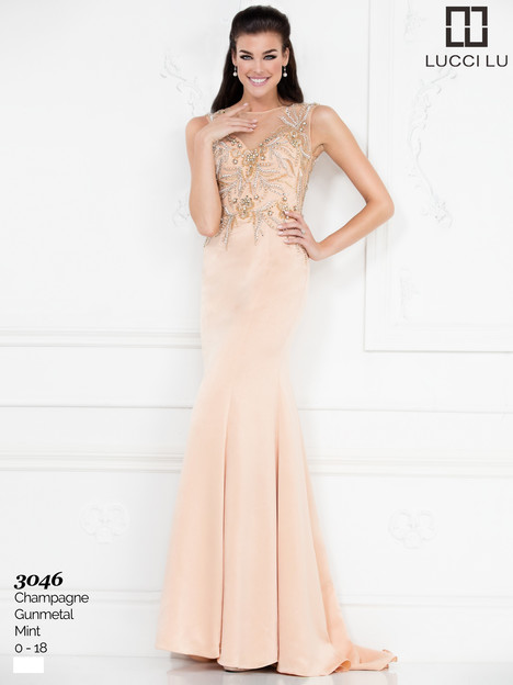 3046 Prom                                             dress by Lucci Lu