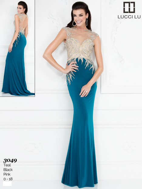 3049 Prom                                             dress by Lucci Lu
