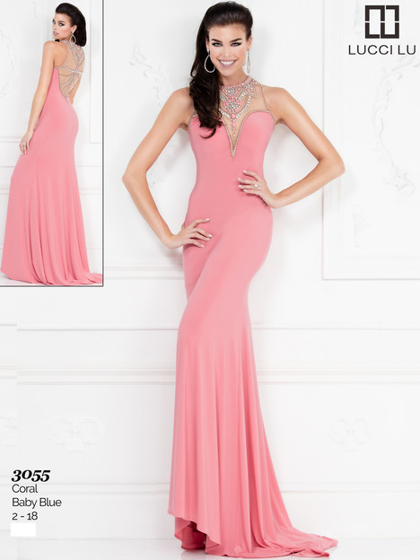 3055 Prom                                             dress by Lucci Lu
