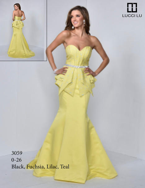 3059 Prom                                             dress by Lucci Lu