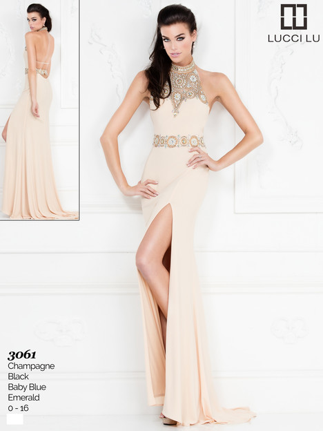 3061 Prom                                             dress by Lucci Lu