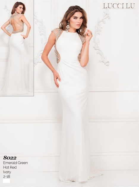 8022 Prom dress by Lucci Lu