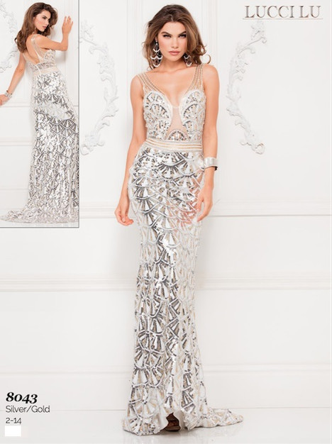 8043 Prom                                             dress by Lucci Lu