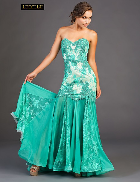 8070 Prom                                             dress by Lucci Lu