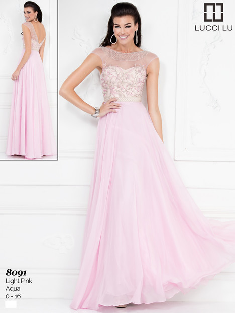 8091 Prom dress by Lucci Lu