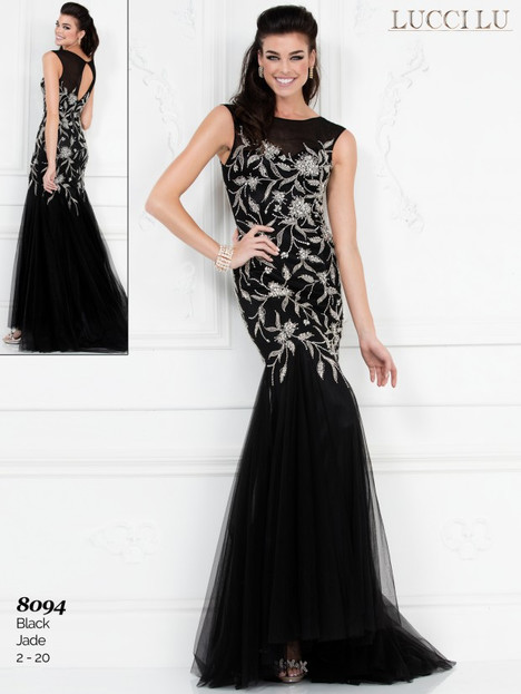 8094 Prom                                             dress by Lucci Lu