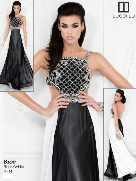 8102 Prom dress by Lucci Lu
