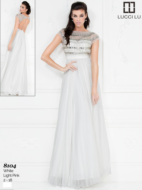 8104 Prom dress by Lucci Lu