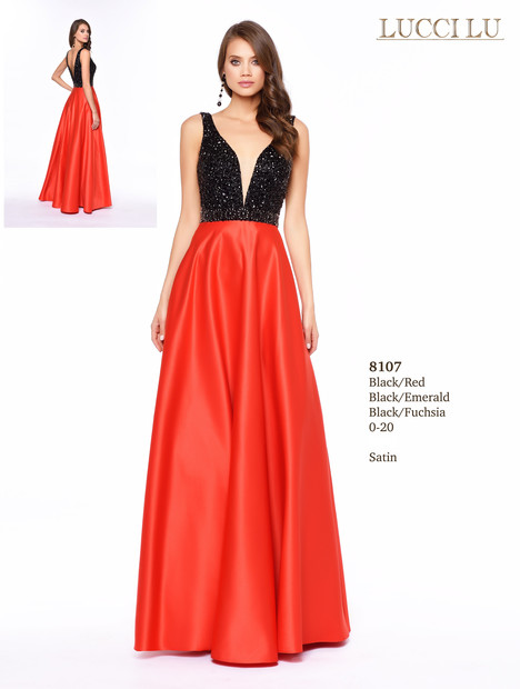8107 Prom                                             dress by Lucci Lu