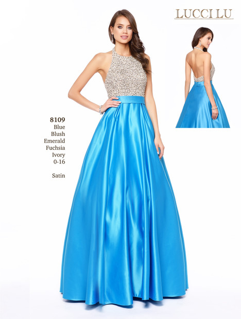 8109 gown from the 2017 Lucci Lu collection, as seen on dressfinder.ca