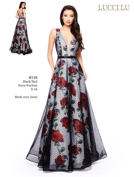 8110 Prom dress by Lucci Lu