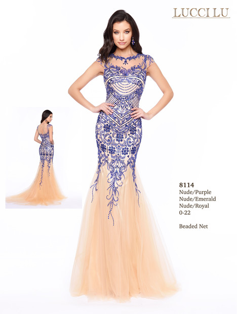 8114 gown from the 2017 Lucci Lu collection, as seen on dressfinder.ca