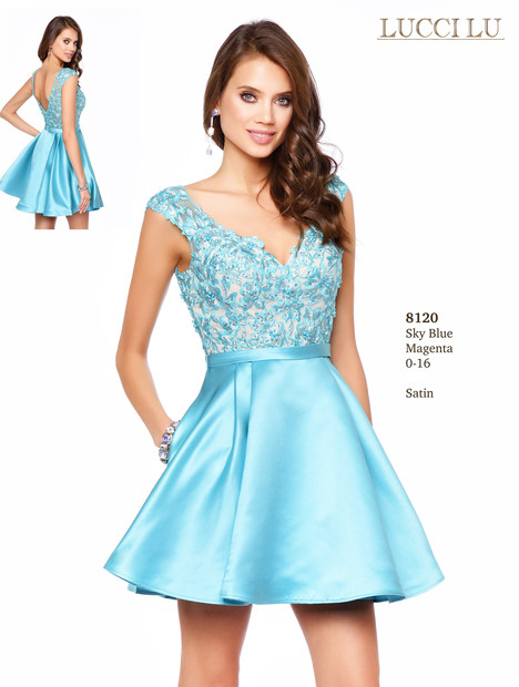 8120 Prom                                             dress by Lucci Lu