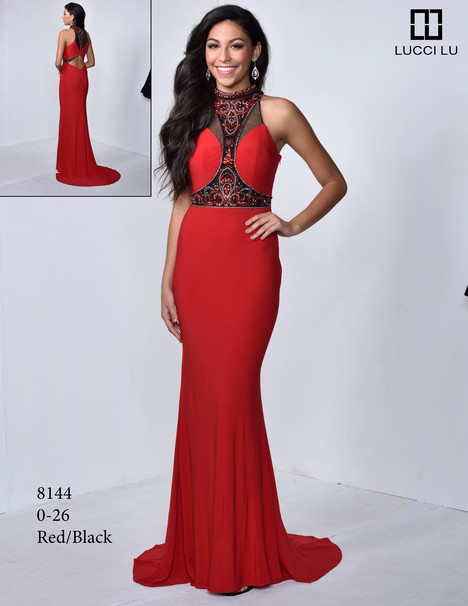 8144 gown from the 2017 Lucci Lu collection, as seen on dressfinder.ca