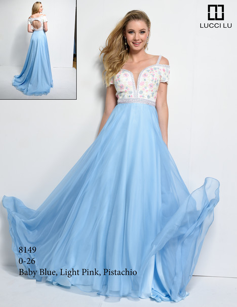 8149 Prom dress by Lucci Lu