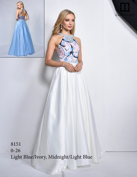 8151 gown from the 2017 Lucci Lu collection, as seen on dressfinder.ca