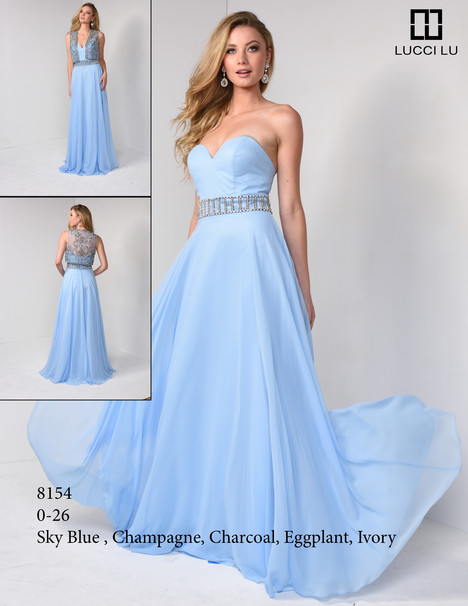 8154 Prom dress by Lucci Lu