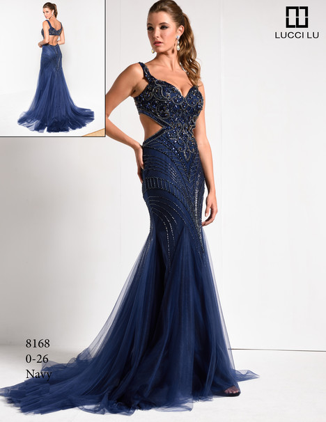 8168 gown from the 2017 Lucci Lu collection, as seen on dressfinder.ca