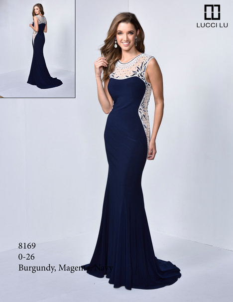 8169 gown from the 2017 Lucci Lu collection, as seen on dressfinder.ca