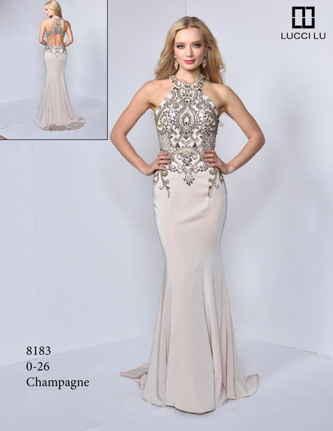 8183 Prom                                             dress by Lucci Lu