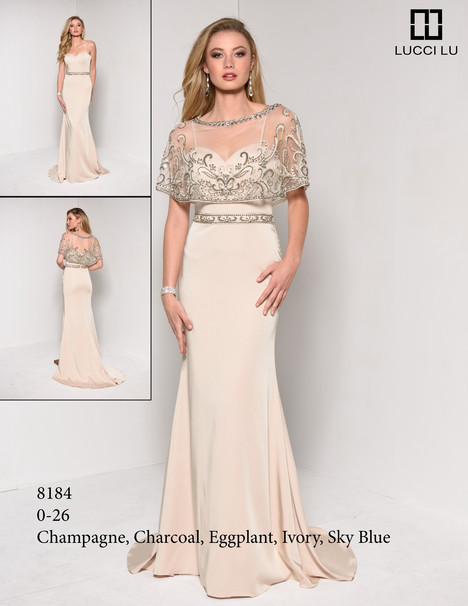 8184 Prom                                             dress by Lucci Lu