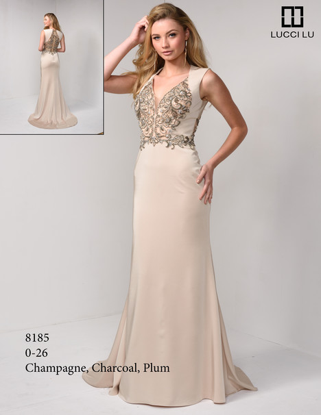 8185 gown from the 2017 Lucci Lu collection, as seen on dressfinder.ca