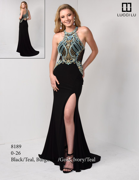 8189 Prom                                             dress by Lucci Lu