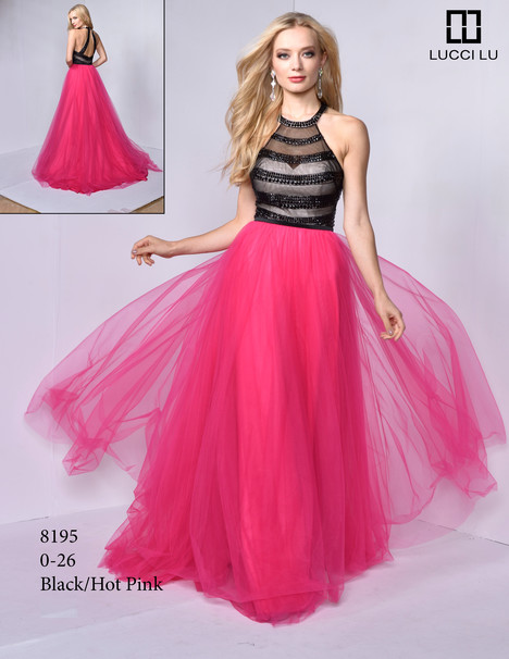 8195 gown from the 2017 Lucci Lu collection, as seen on dressfinder.ca