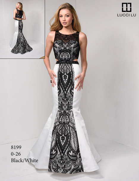 8199 Prom                                             dress by Lucci Lu