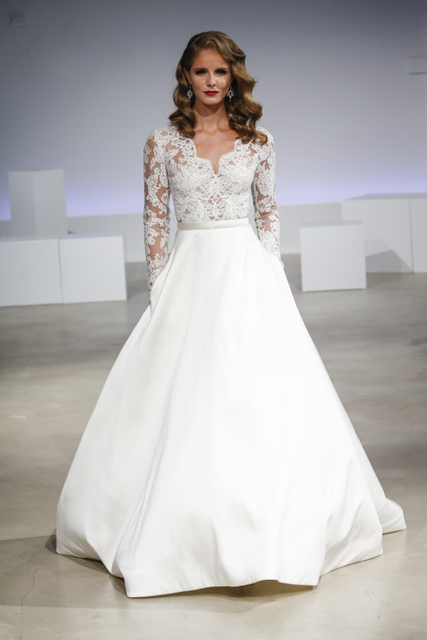 Brooks Wedding                                          dress by Anne Barge