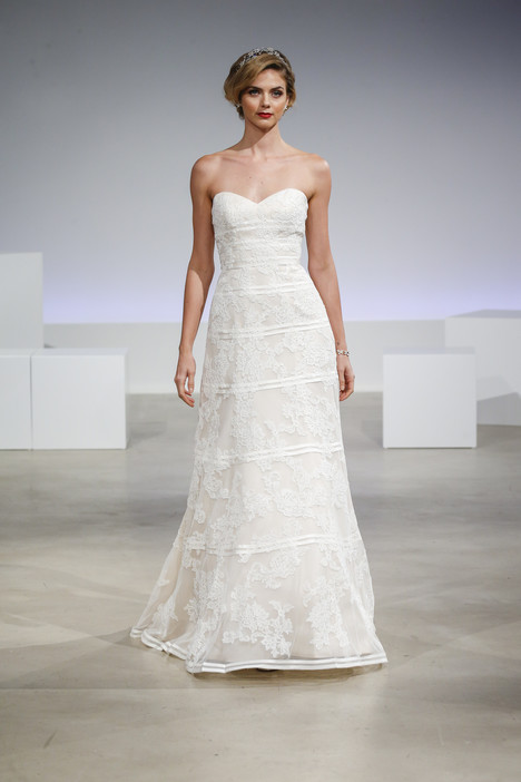 Eva Wedding                                          dress by Anne Barge