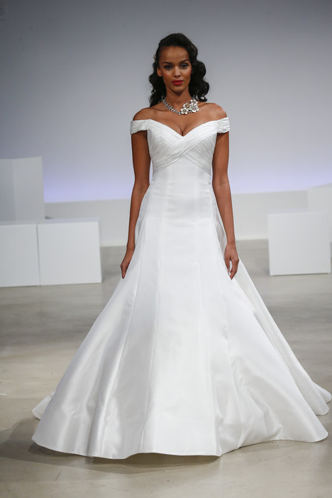 Reid Wedding                                          dress by Anne Barge