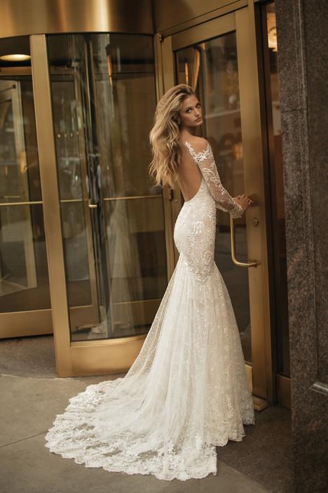 17-129 (back) Wedding                                          dress by Berta Bridal
