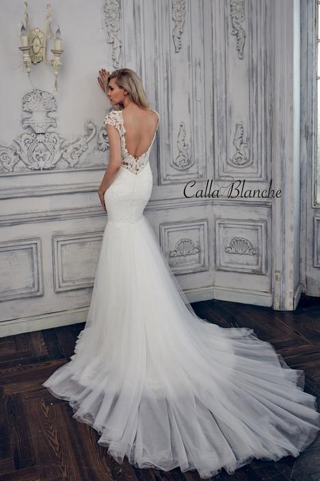 17101 (back) Wedding                                          dress by Calla Blanche