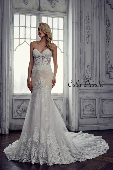 17118 gown from the 2017 Calla Blanche collection, as seen on dressfinder.ca