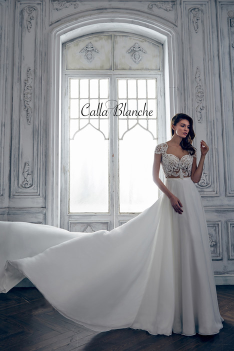 17127 gown from the 2017 Calla Blanche collection, as seen on dressfinder.ca