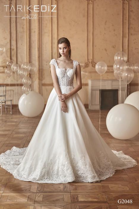 Forli (G-2048) Wedding                                          dress by Tarik Ediz : White