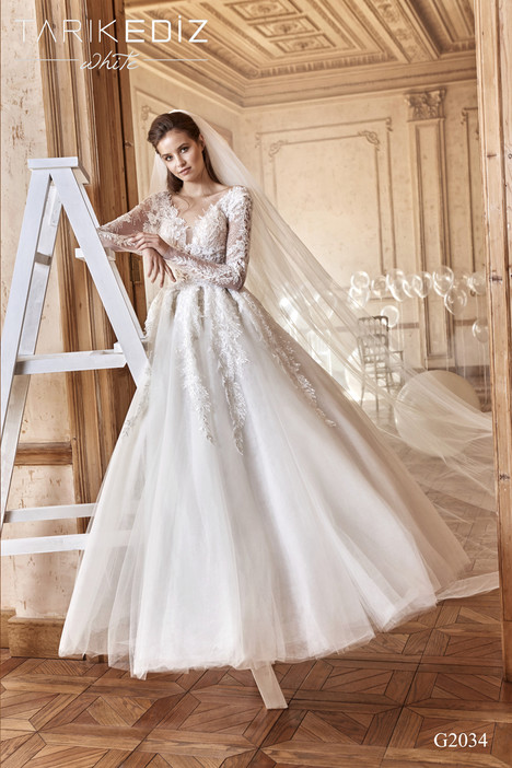 Marbella (G2034) Wedding                                          dress by Tarik Ediz: White