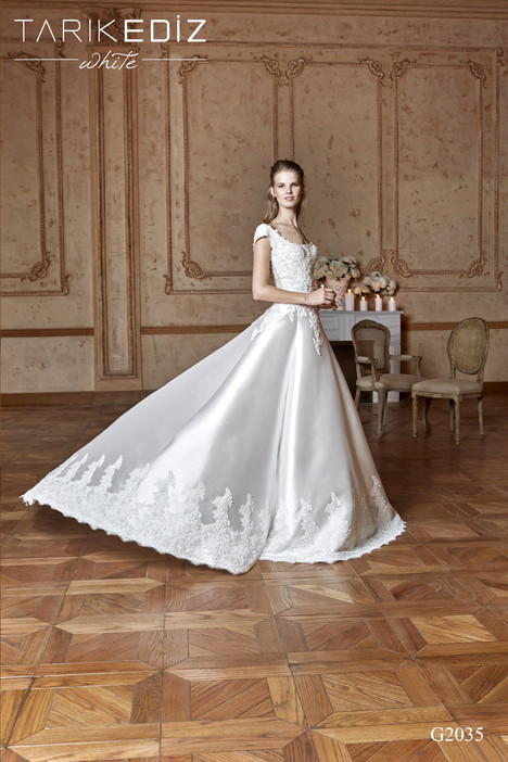 Milano (G2035) Wedding                                          dress by Tarik Ediz : White