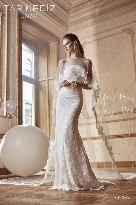 Tenerife (G2037) Wedding dress by Tarik Ediz: White