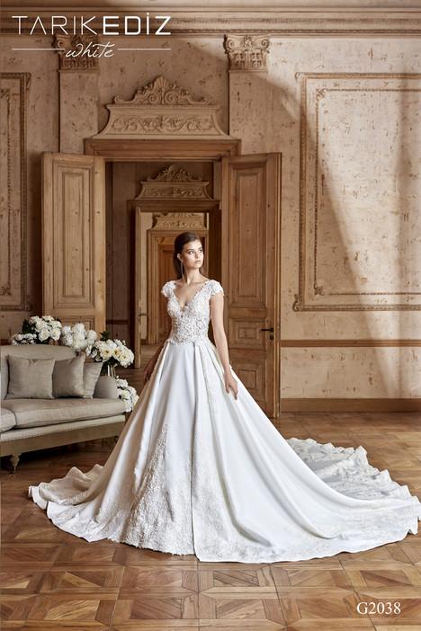 Cadiz (G2038) gown from the 2017 Tarik Ediz: White collection, as seen on dressfinder.ca