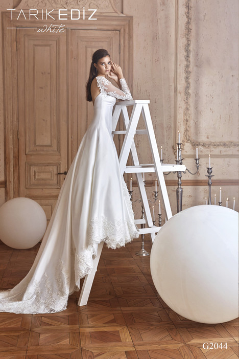 Valencia (G2044) Wedding                                          dress by Tarik Ediz: White
