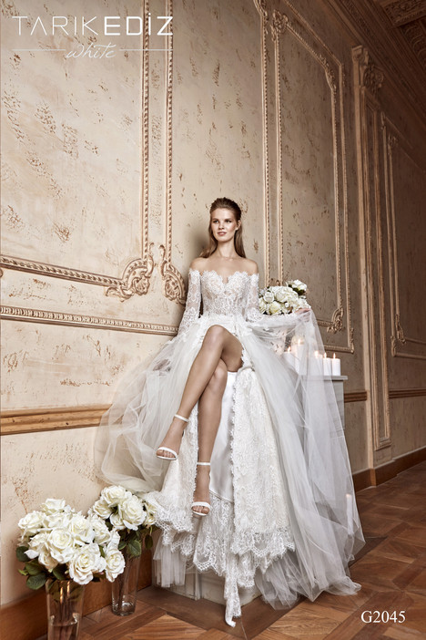 Pisa (G2045) Wedding dress by Tarik Ediz: White