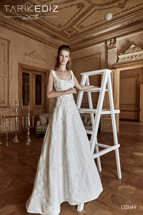 Leeds (G2049) Wedding                                          dress by Tarik Ediz : White