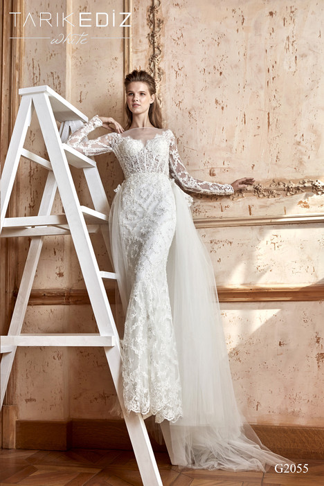 Alsas (G2055) gown from the 2017 Tarik Ediz: White collection, as seen on dressfinder.ca