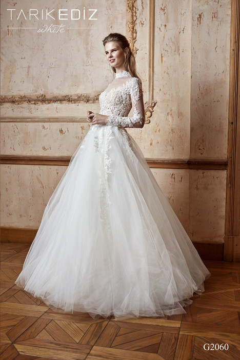 Toledo (G2060) Wedding dress by Tarik Ediz: White