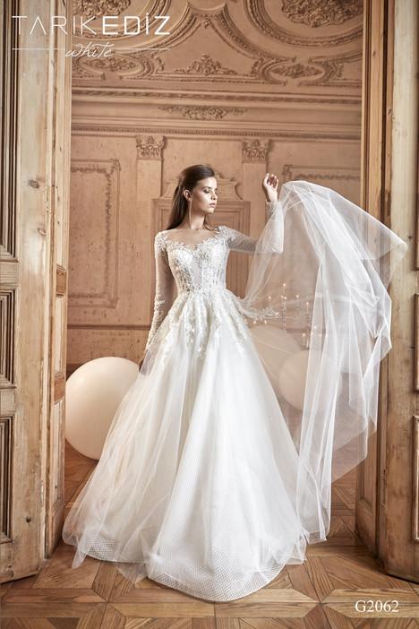 Cannes (G2062) Wedding                                          dress by Tarik Ediz: White